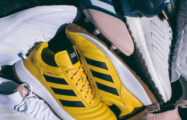 Kith hits the pitch for its adidas Soccer Footwear Program