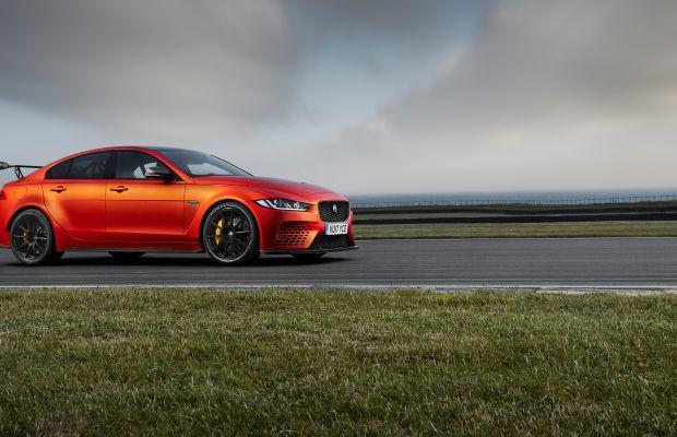 Jaguar unveils its most powerful road car, the XE SV Project 8