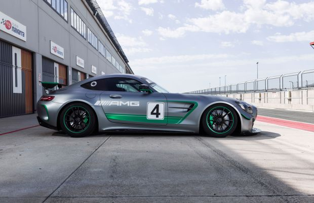 Mercedes reveals its latest competition car, the AMG GT4