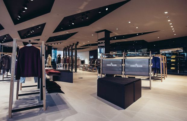 Stone Island opens its biggest flagship in Los Angeles