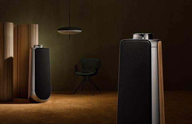 Bang & Olufsen's BeoLab 50 is a 2,100 watt tower of audio firepower