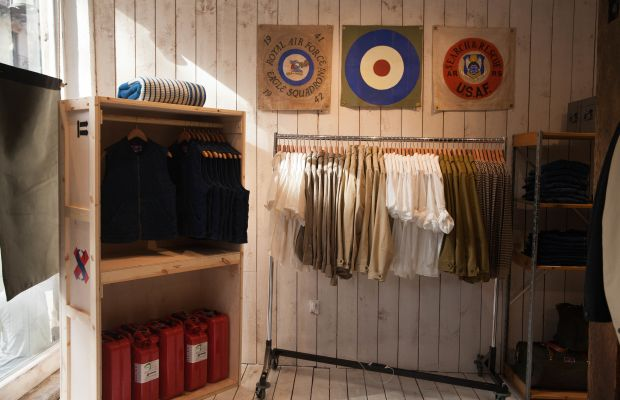 Best Made is turning their Surplus Sale into a full-on pop-up shop in Nolita