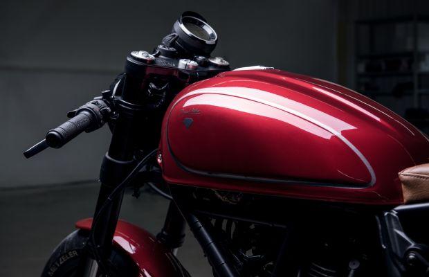 Diamond Atelier unveils their first custom Ducati