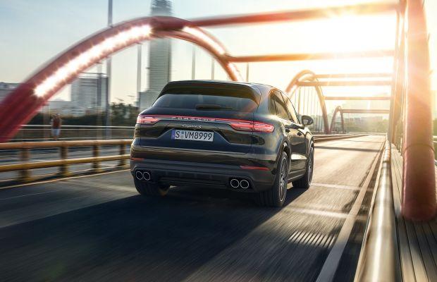 Porsche unveils the third-generation Cayenne SUV