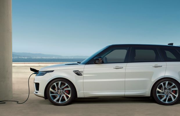 The Range Rover Sport P400e is Land Rover's first plug-in hybrid