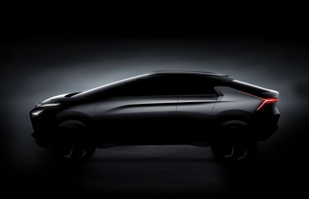 Mitsubishi's e-EVOLUTION CONCEPT teases an all-electric, high performance future
