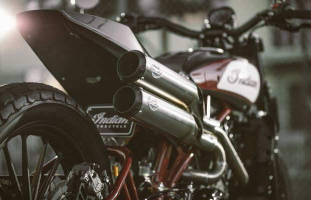 Indian celebrates the championship-winning FTR750 with a one-off bike