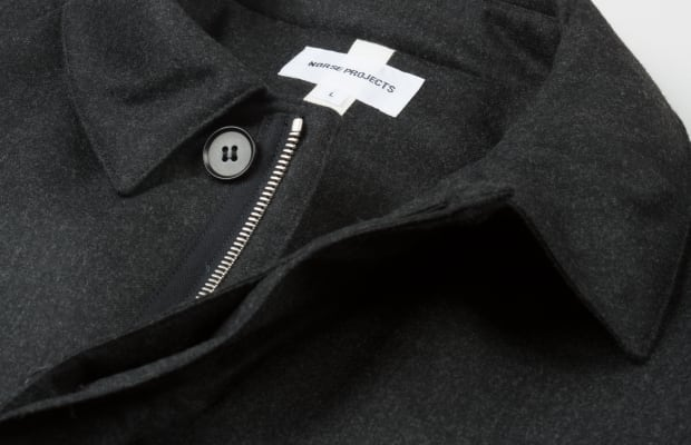 Norse Projects Thor Storm Wool Raincoat