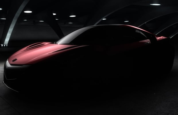 Preview: The Next-Gen ACURA NSX