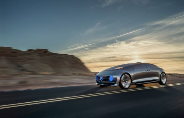 The S-Class of the future? Mercedes debuts the F 105 Concept