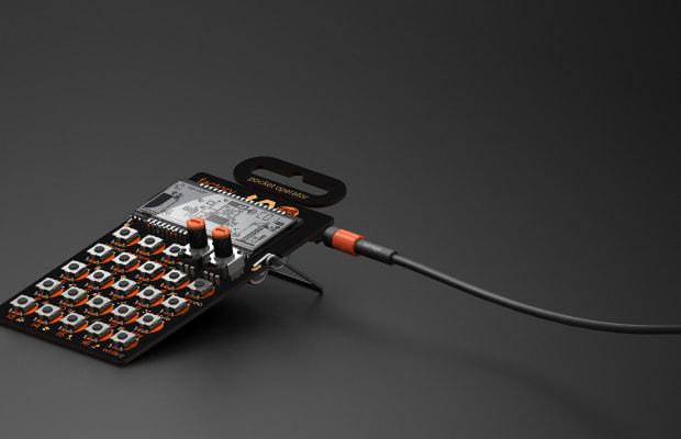 The Teenage Engineering x Cheap Monday Pocket Operator
