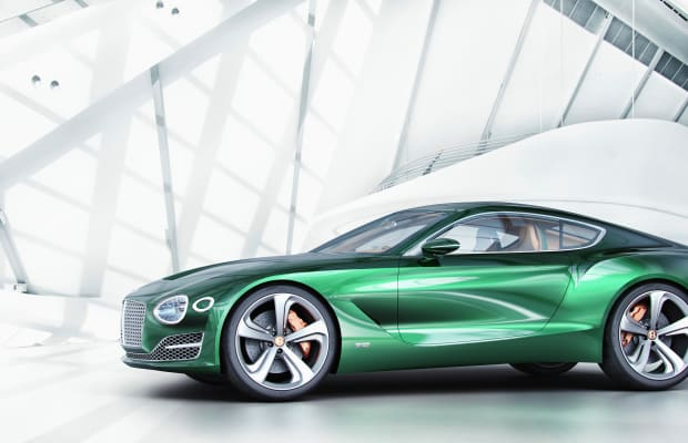 The Bentley EXP 10 Speed 6