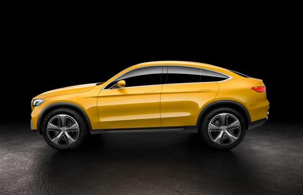 The Mercedes Concept GLC Coupe