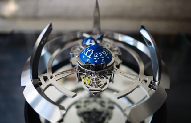 Cool Hunting Editions MB&F Starfleet Machine