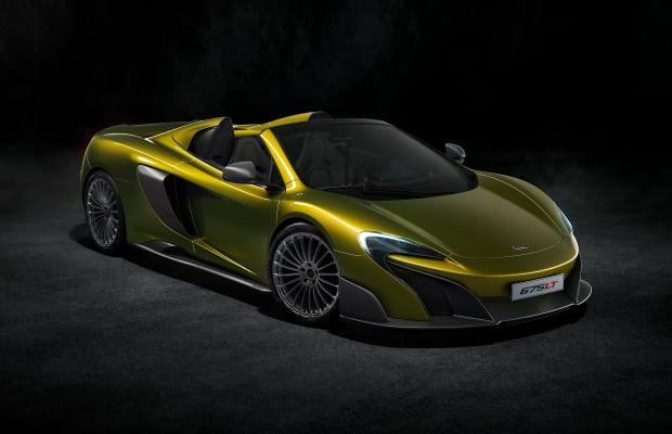 McLaren announces a drop-top version of their 675LT