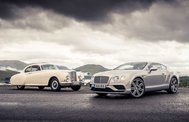 Bentley takes its back to where it began with the Continental R-Type