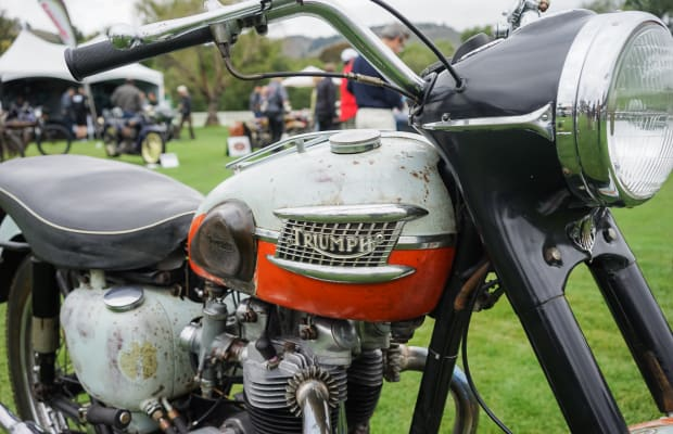 Art on two wheels | The Beautiful Bikes of the Quail Motorcycle Gathering