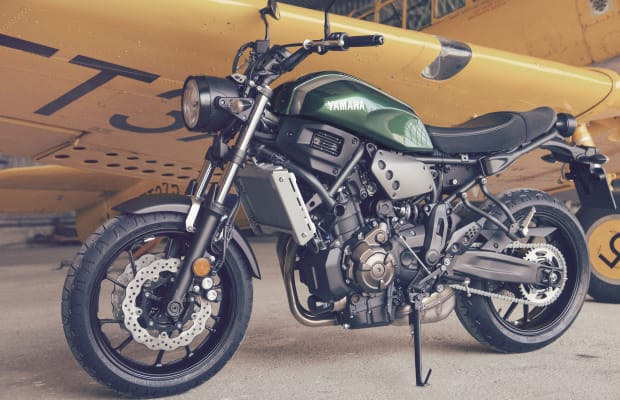 Yamaha reveals its answer to the Ducati Scrambler, the XSR700