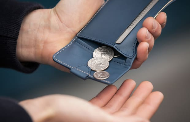 The Bellroy Coin Fold