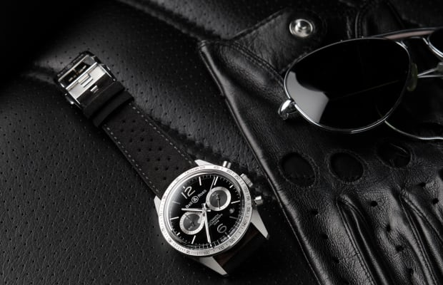 Bell & Ross hits the track with their Vintage BR GT