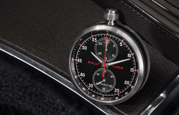 Montblanc's newest timepiece is inspired by classic racing instruments
