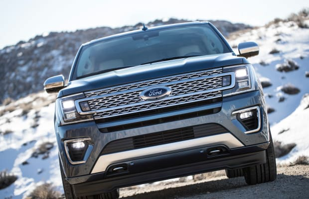 Ford reveals the all-new 2018 Expedition