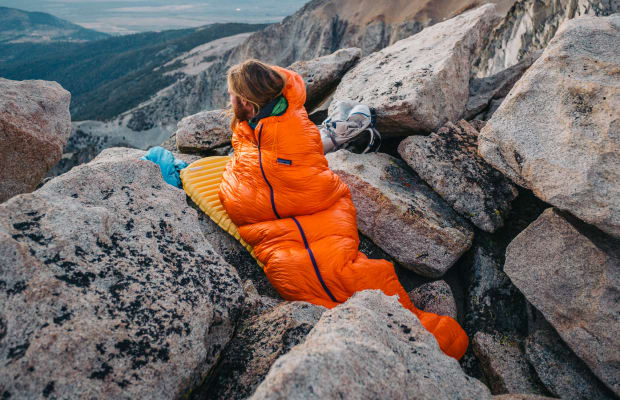 Patagonia releases its first sleeping bag
