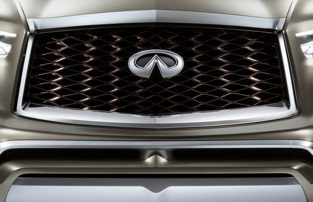 Infiniti fully unveils its behemoth of a luxury SUV concept, the QX80 Monograph