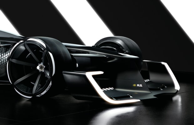 Renault's R.S. 2027 Vision imagines the near-future of Formula 1