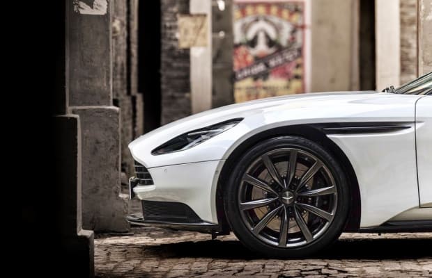 Aston Martin's new DB11 gets some help from AMG