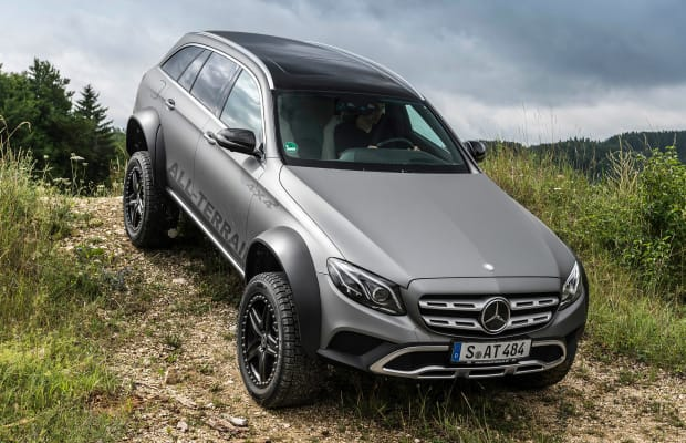 The E-Class All Terrain 4x4² is the ultimate off-road luxury wagon