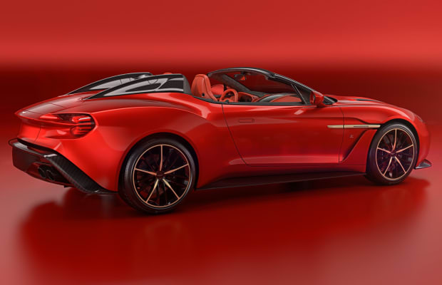 Aston Martin and Zagato debut a Vanquish Speedster and a Vanquish Shooting Brake