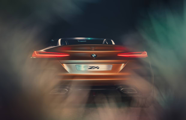 BMW's latest concept previews the next-generation Z4