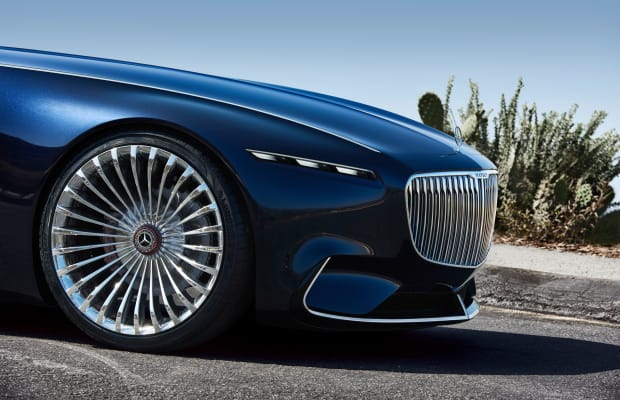 Mercedes' gargantuan Maybach concept gets a cabriolet variant