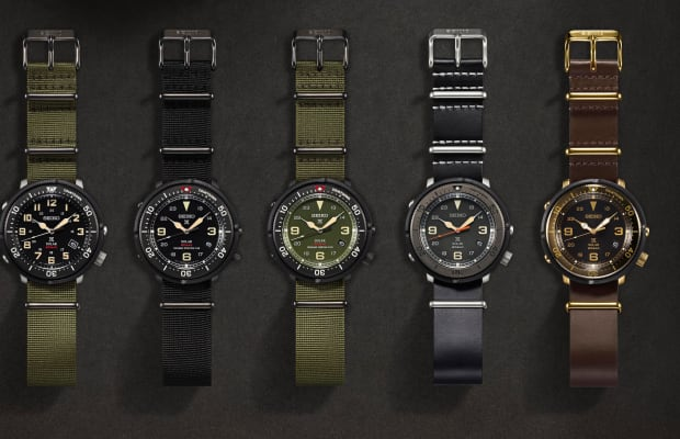 Lowercase creates a new series of Fieldmaster watches for Seiko