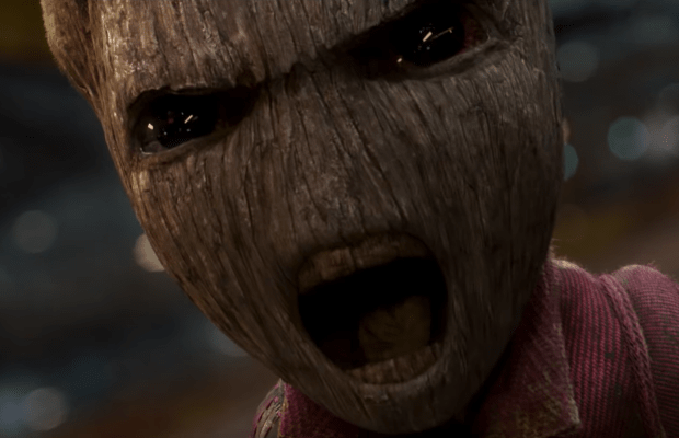 Baby Groot goes viral in Guardians of the Galaxy Vol.2