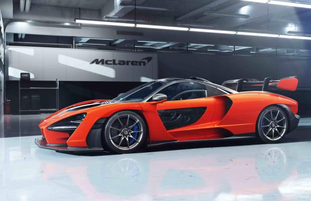 McLaren debuts its street-legal track car, the Senna