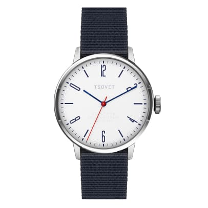 TSOVET Fred Segal Watch navy nylon strap option.jpg