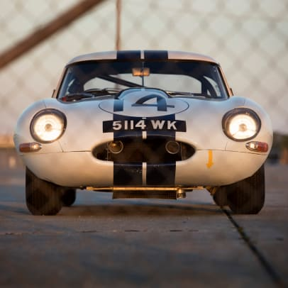 1963 Jaguar E-Type Lightweight #14 Cunningham 15 -instagram