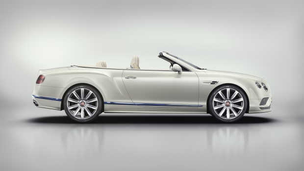 Mulliner GT Convertible V8 Galene Edition Side - Dark Tint