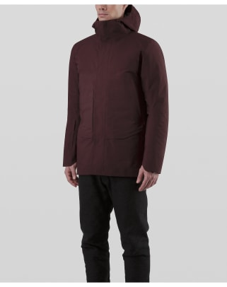 Patrol-Down-Coat-Maroon