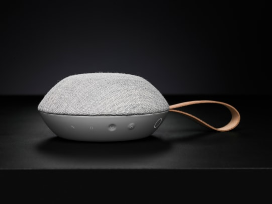 Vifa Puts Big Sound Into A Compact Kvadrat Wrapped