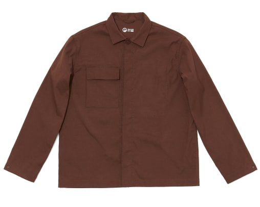Outlier-F.ClothHardShirt-brown