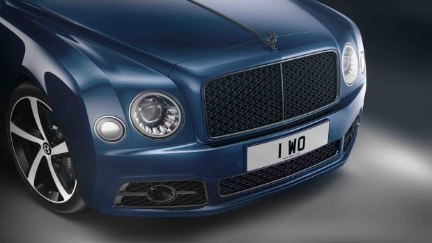 Mulsanne 675 Edition - 4, Front Grille