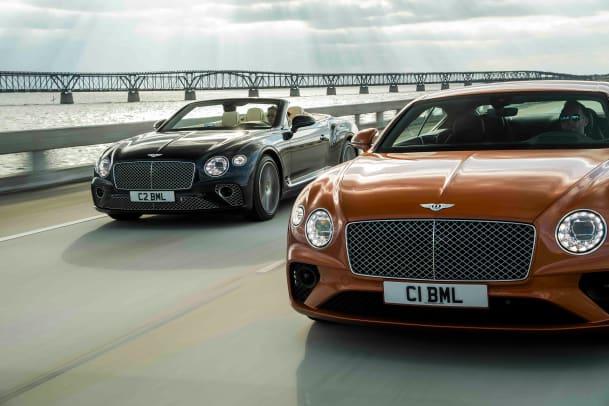 Bentley Continentl GT & GT Convertible V8_Hero 2