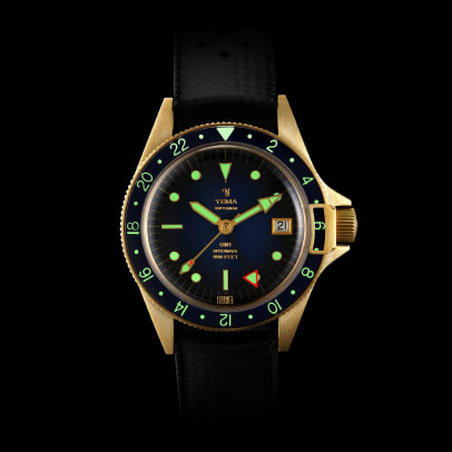 Superman GMT Bronze Blue lumeshot