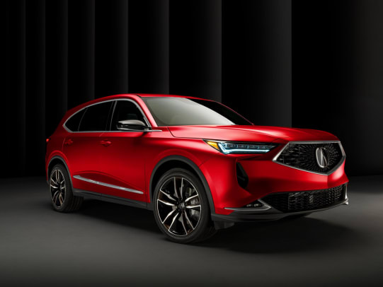 Red MDX Front