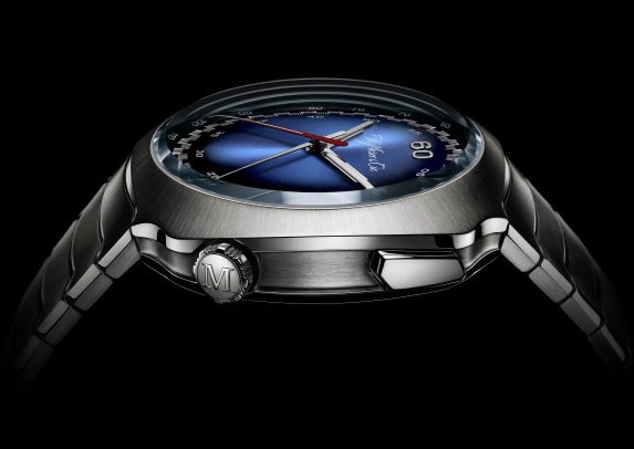 Streamliner Flyback Chronograph Automatic Funky Blue_6902-1201_Profile_Black Background