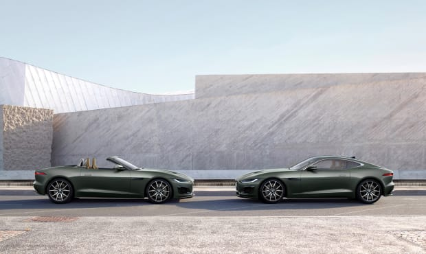 Jaguar F-TYPE Heritage 60 Edition_Coupe & Convertible_Profile_small