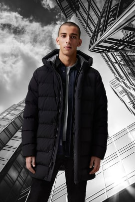 Woolrich FW 21 Collection (17)_High Tech Quilted Long Jkt